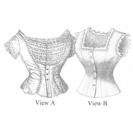 Mid-Victorian Corset Covers