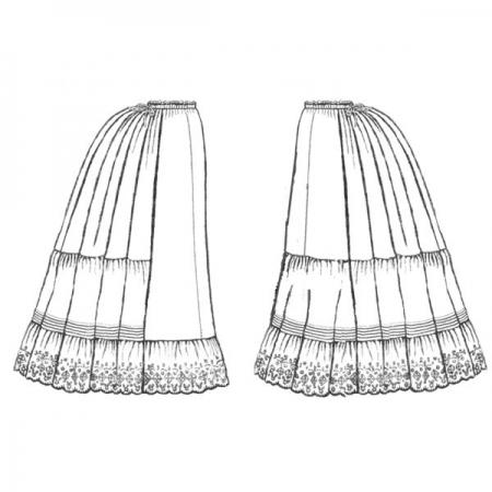 TV170 – Victorian Petticoats pattern image