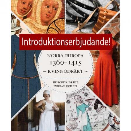 Kvinnodräkt-i-norra-europa-1360-1415-framsida-erbj